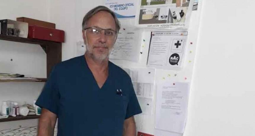 Jose María Maluendez; 'Desde el 1 de abril dejaré de ser director del Hospital Juana G de Miguens'
