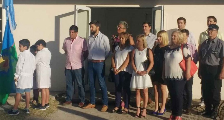 Apertura oficial del Ciclo Lectivo 2020; El SPB presente en la vida comunal de Sierra Chica