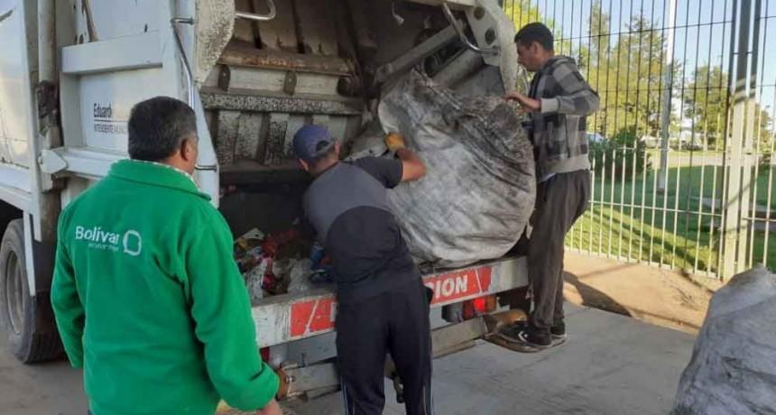 Prueba piloto de separación de residuos en la Unidad N° 17