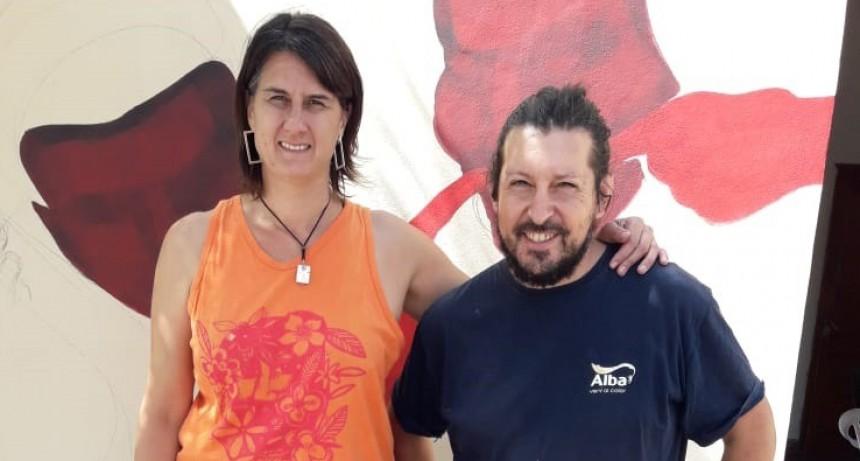 Magui Delfino; 'Los murales dan identidad a los espacios, conectan no solo con el lugar donde se hacen sino con todo el pueblo'