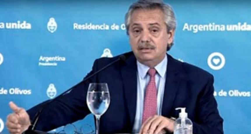 Alberto Fernández: 'Vamos a prolongar el aislamiento obligatorio hasta que termine Semana Santa'