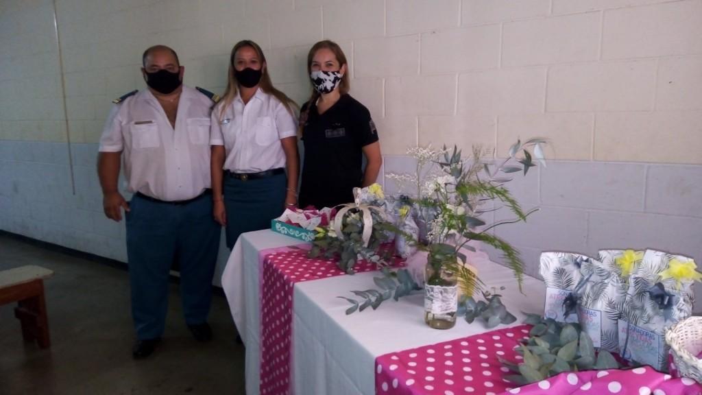 En la Unidad Penitenciaria Nº 17 de Urdampilleta: Historia, desayuno y obsequios por el Día de la Mujer