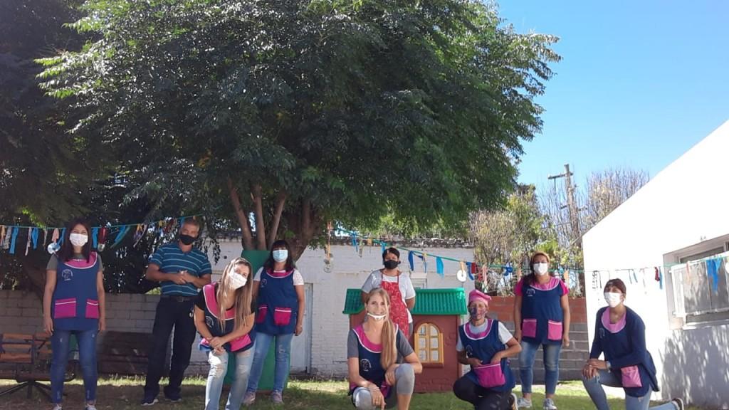 Inicio presencial del ciclo lectivo 2021:  Abrió sus puertas el Jardín Maternal Ardillitas