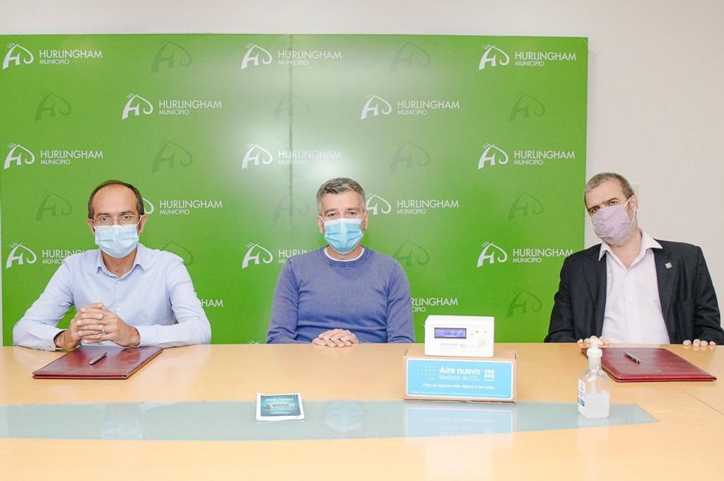 Salud: El Intendente Pisano adquirió 100 detectores de dióxido de carbono