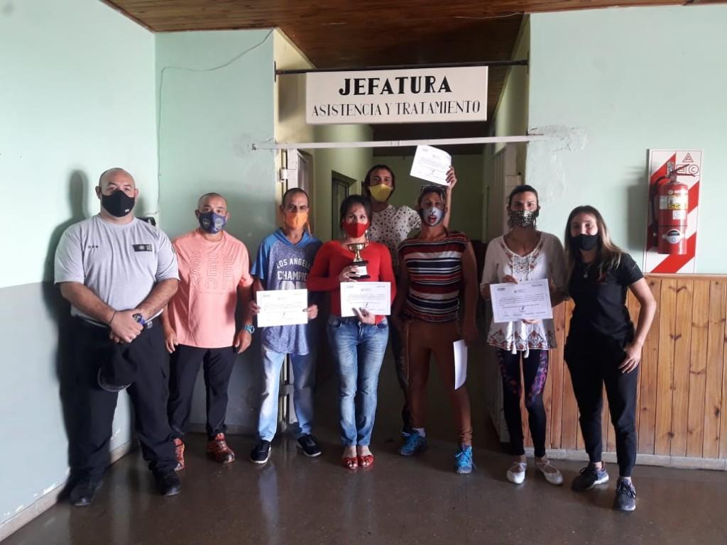 """Las internas trans de la Unidad N°2 recibieron los  premios del concurso """"Igual Bailamos 2020 III Edición"""