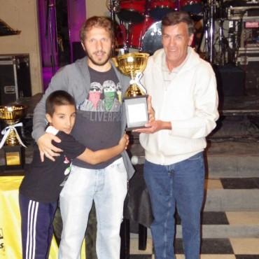 """Se realizó la entrega de premios del Campeonato Nocturno del Fútbol Senior """"Manuel Ferrer"""""""