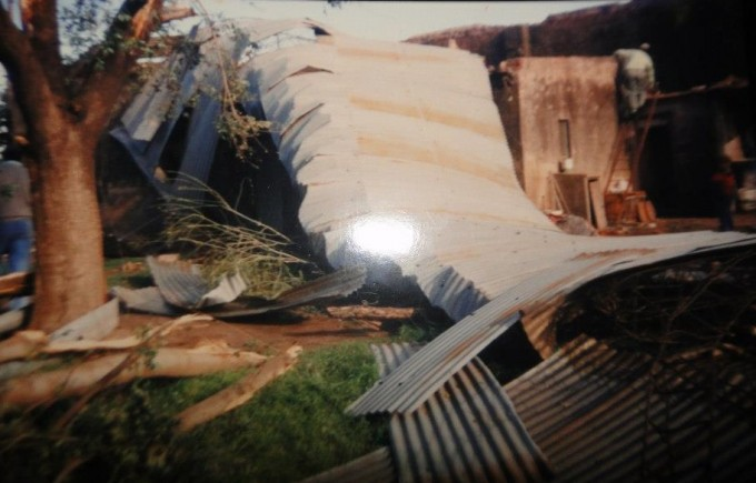 Historias inéditas del tornado que azotó a Urdampilleta en 1993