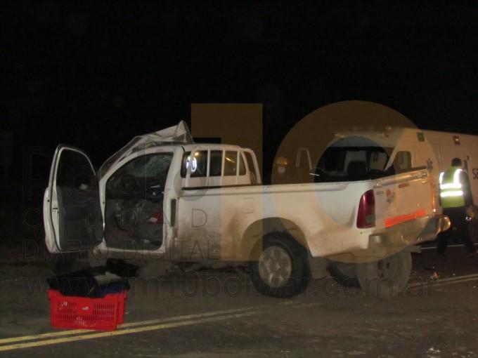 Fatal accidente en la ruta 65: dos personas perdieron la vida