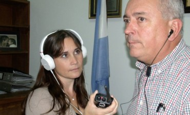 El Delegado Agustín Rodríguez dio novedades referidas al Hospital, Talleres Protegidos, Oficina de Tránsito, Equinoterapia e Inferiores