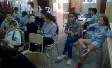 'Semana de la Actividad Física': Alumnos de la escuela secundaria realizaron actividades vinculadas a la celebración