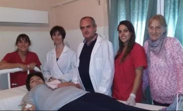 Este viernes se realizó una campaña de 'hemodonación' en el Hospital 'Rodolfo Pirovano'