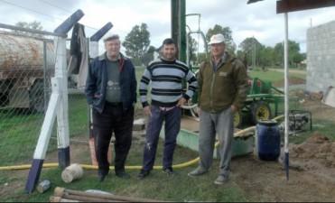 Agrario comenzó a trabajar en el riego artificial