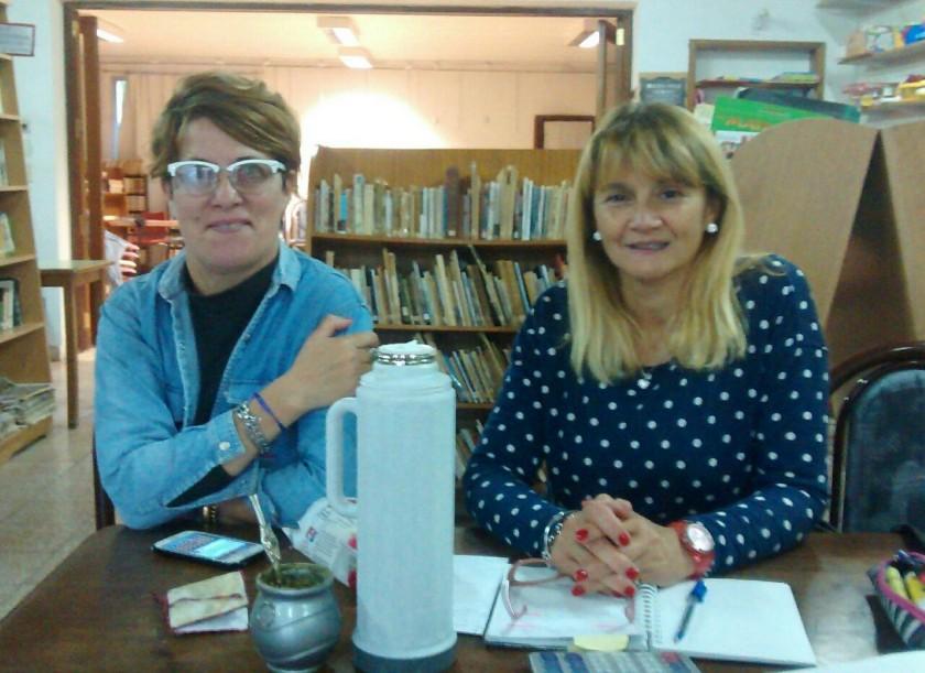 Comienzo de actividades en la Biblioteca Popular Sarmiento