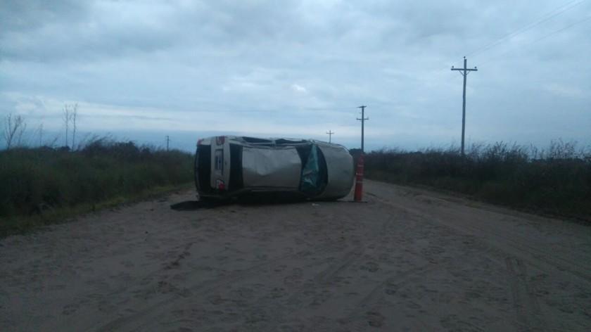 HENDERSON: Una persona falleció tras un vuelco ocurrido en el camino a María Lucila