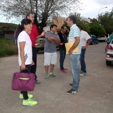 Las autoridades de los Centros de Educación Física visitaron las Urdampilleta en este comienzo de actividades