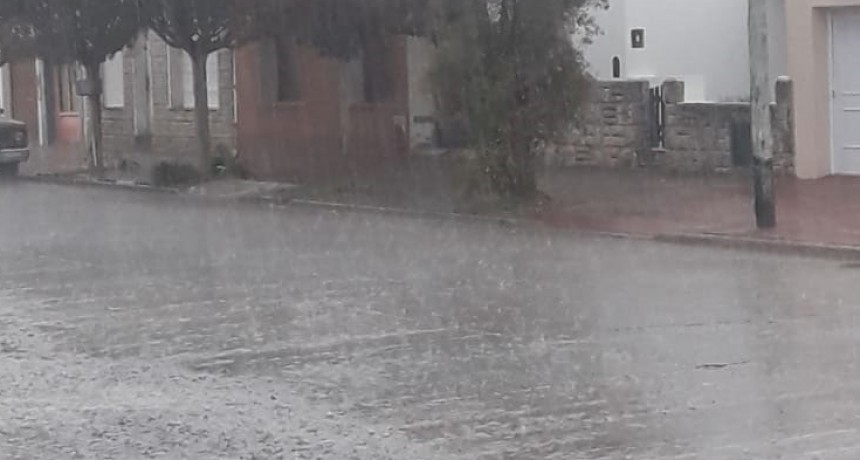 Registro de lluvias miércoles 10 de abril; hasta 21 mm registrados en Urdampilleta y la zona