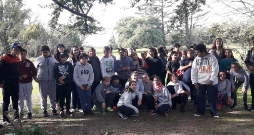 Alumnos de la escuela secundaria participaron de una actividad de convivencia en El Deseado