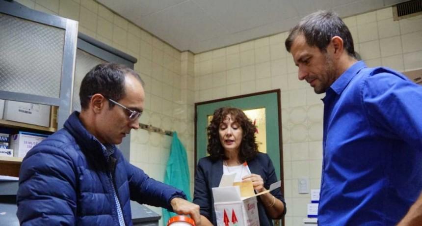 Pisano y Bucca buscan fortalecer el sistema sanitario