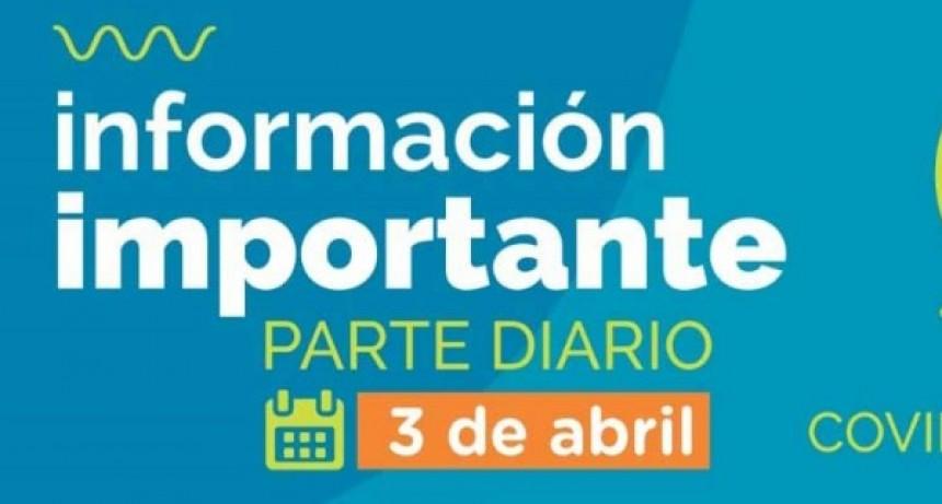 Informe epidemiológico viernes 3; Sin casos confirmados y un caso en estudio en Bolívar