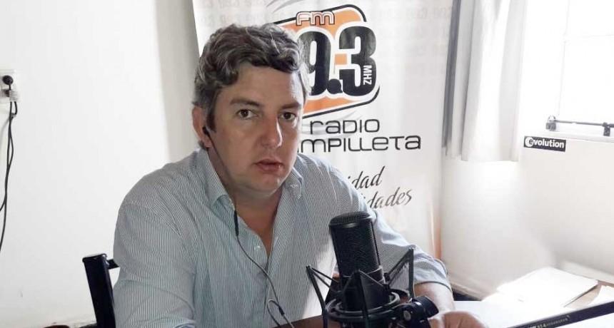 Agustín Puleo; Tenemos que tomar todas las medidas que se puedan para prevenir y ayudarnos entre todos'
