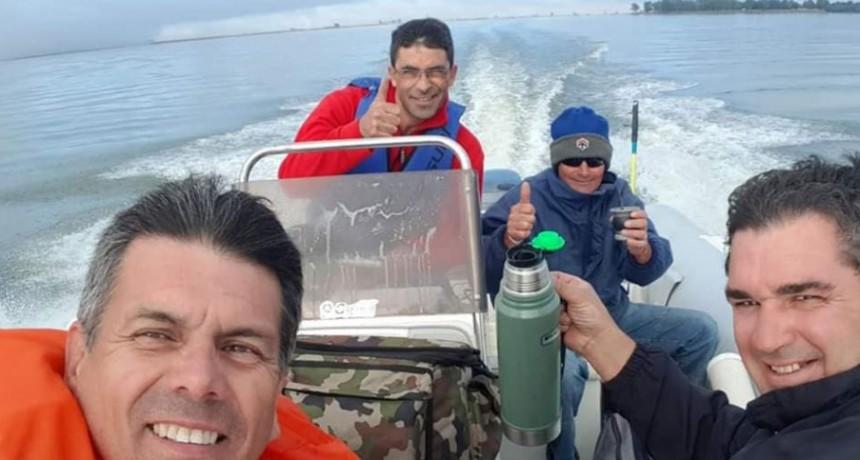Guillermo Díaz; 'En este momento extraño tanto ir a pescar como las juntadas con la peña'