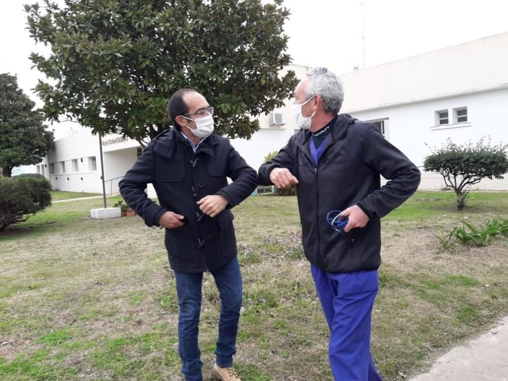El doctor Fabián Marina y su primer año como  Director del Hospital