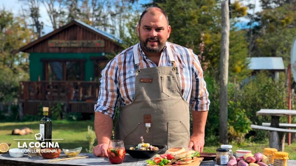 """Luis Bernal: """"Mi pasión por la cocina arranca  porque me gusta comer mucho, variado y rico"""""""