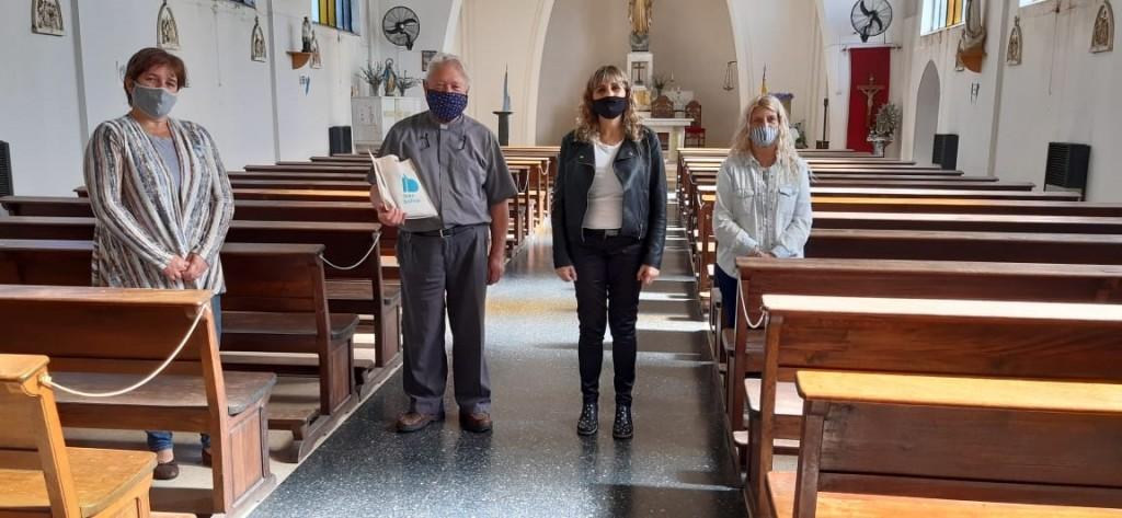 El sacerdote Miguel Ostertag fue destinado a Comodoro Rivadavia
