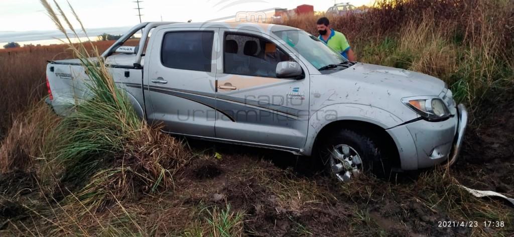 """Ruta 65: Despiste sin consecuencias en la llamada """"Bajada al Chanchito"""""""