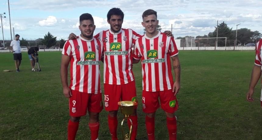 Urdampilleta tiene tres campeones