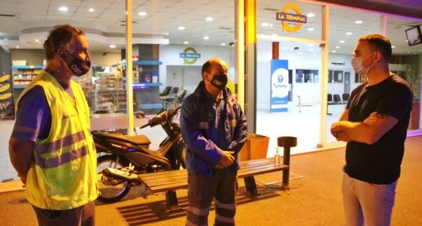 En Semana Santa: La Agencia de Seguridad Vial realizó controles en la terminal de ómnibus