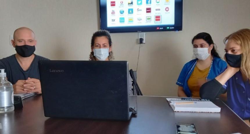 Este viernes la Dirección de Niñez participó de un seminario virtual brindado por el Hospital Santojanni