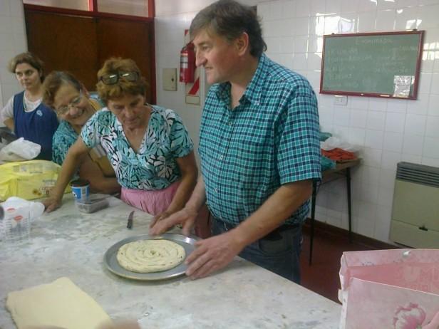 Taller de panadería y pastelería en el Centro Complementario de Urdampilleta