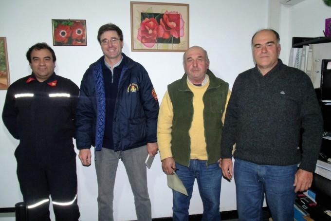 El Cuartel N°235 de Urdampilleta, festeja el Día del Bombero Voluntario