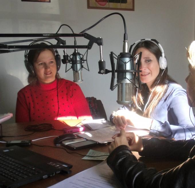 Día de los Jardines de Infantes: Daniela Berré y Daniela Arenaza O´Connell, visitaron 'Radio Urdampilleta'