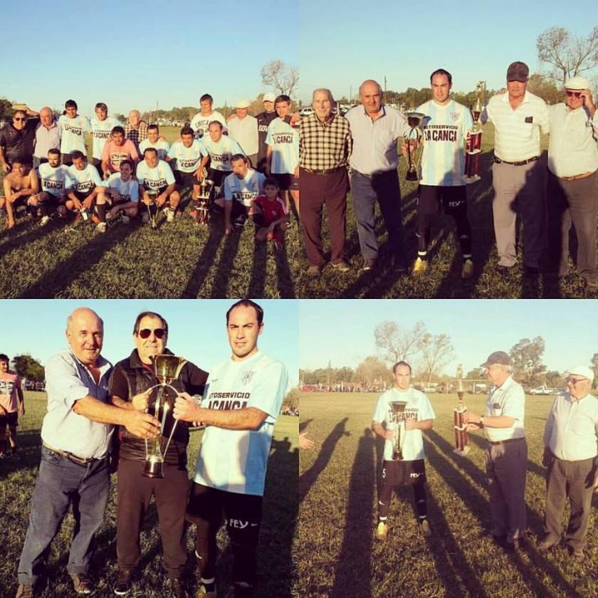 Club El Veterano se llevó la Copa Desafío 'Radio Urdampilleta' y ganó el Cuadrangular