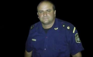 Carlos Manzini fue ascendido a Comisario de la Estación Policial Comunal de Henderson