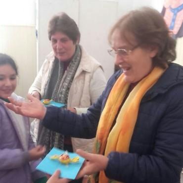 EP N°13: Echave y Cardoso realizaron charla informativa sobre donación de Médula Ósea