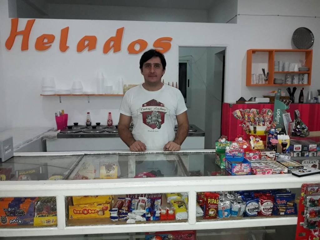 Heladeria Chocolate en nuevo domicilio