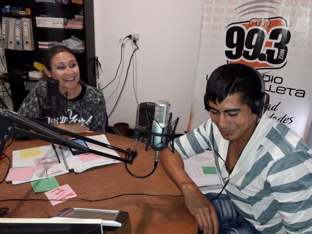 Rodrigo Zalazar presente en el festival boxístico de Urdampilleta