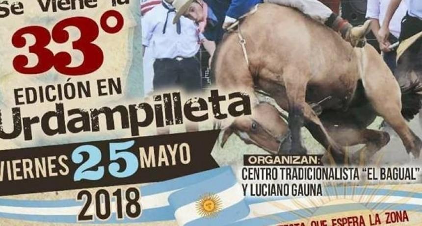 Urdampilleta festeja el 25 de mayo a puro tradicionalismo