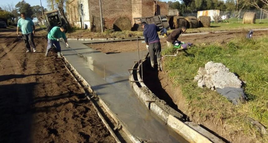 La Municipalidad sigue ejecutando obras en Pirovano