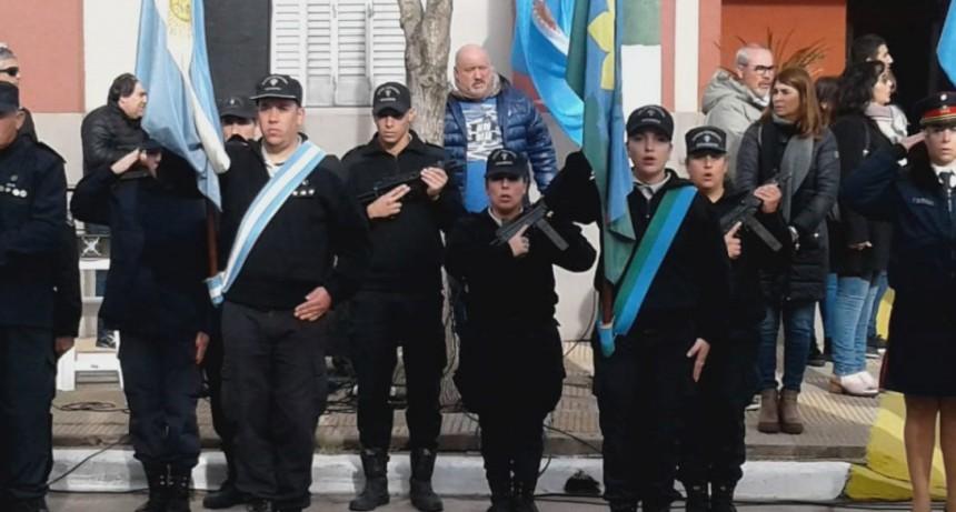 La Unidad N°17 participó del acto central del 25 de Mayo