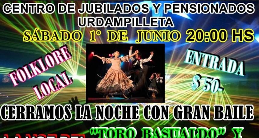 Noche de Folclore y Baile en el Centro de Jubilados y Pensionados de la localidad