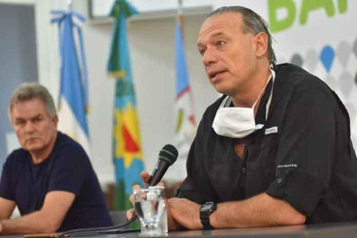 Berni no descartó aislar a la provincia de la Ciudad de Buenos Aires