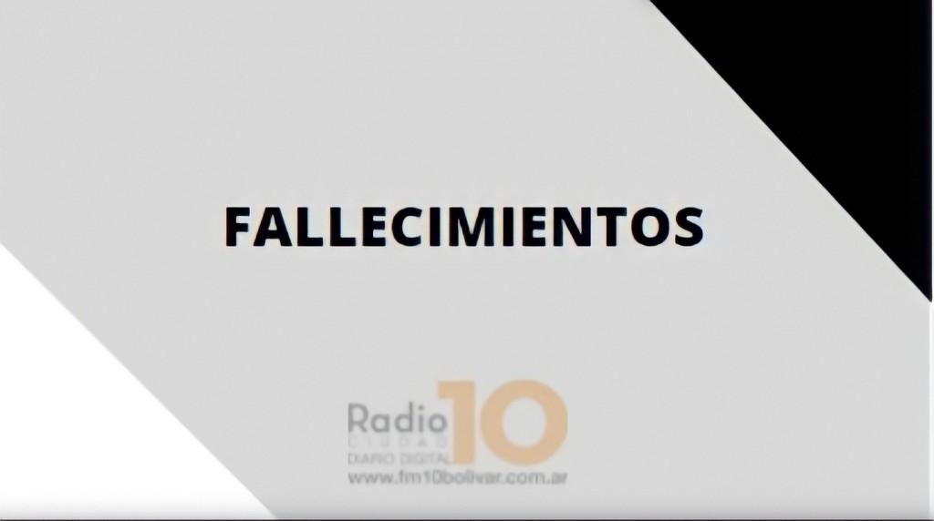 Fallecio en Urdampilleta, Alicia Lamas