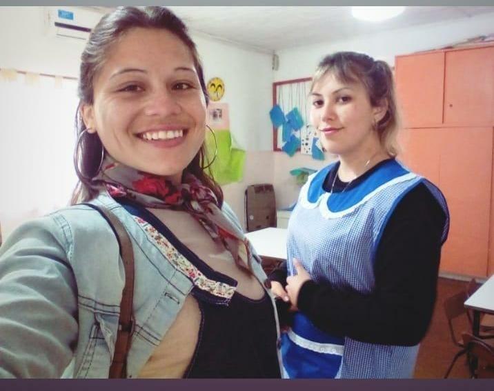 Camila Gil y Mailén Pedruelo: