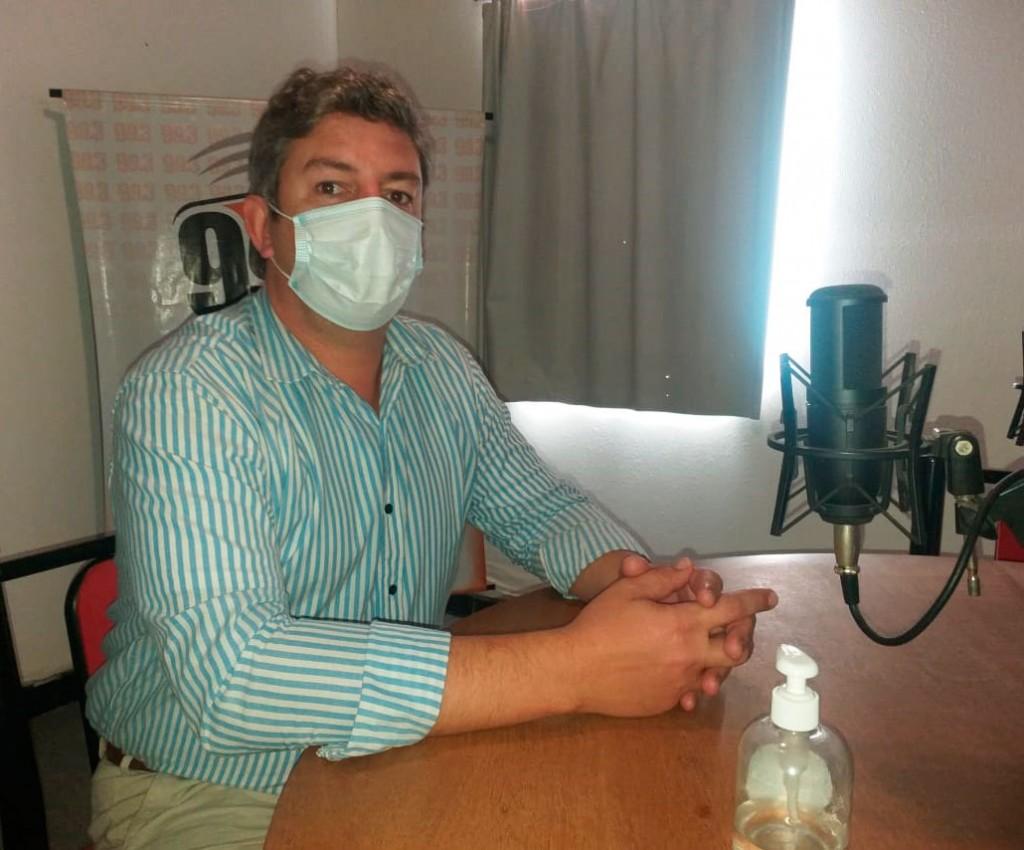 """Agustín Puleo Zubillaga: """"La intención de este programa que contempla cerca de 200 hisopados, es adelantarnos al virus y generar prevención"""""""