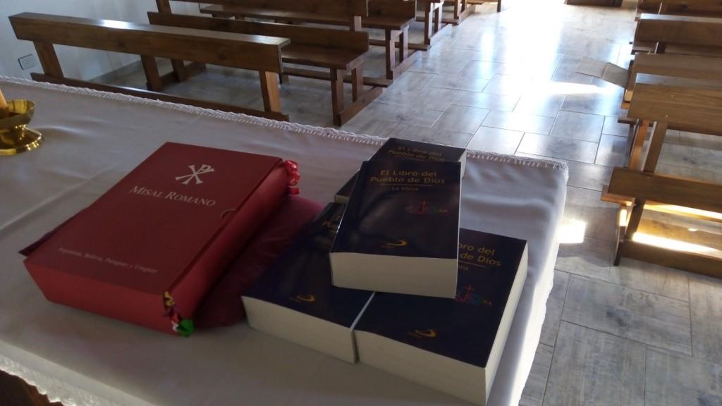 Valioso aporte para la capilla de la Unidad Nº 17
