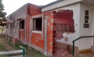 Avanza la obra de ampliación del hospital 'Juana G. de Míguens'